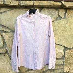 J.Crew Pale Pink Long Sleeve Button Down Shirt